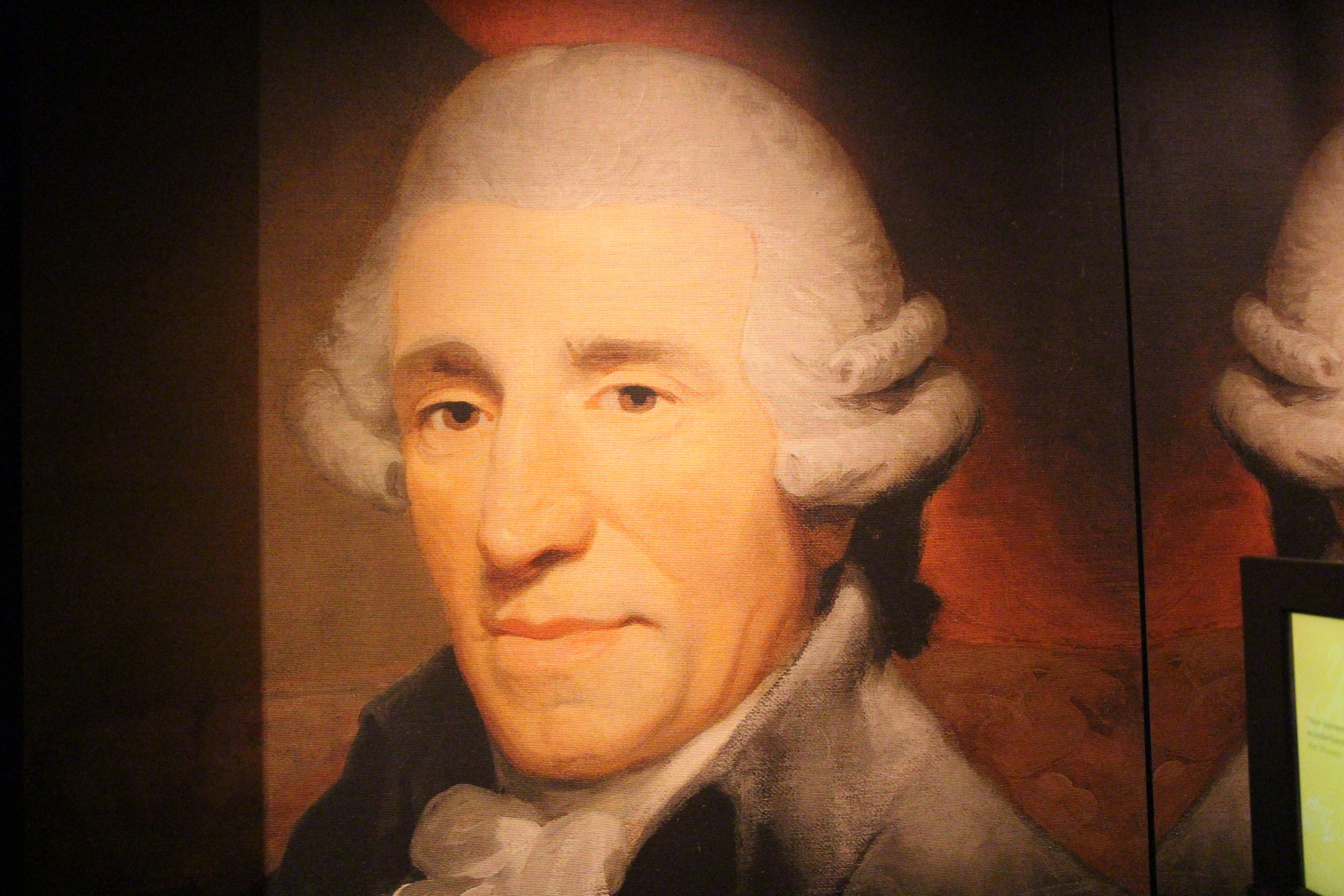 what songs did franz joseph haydn write a letter
