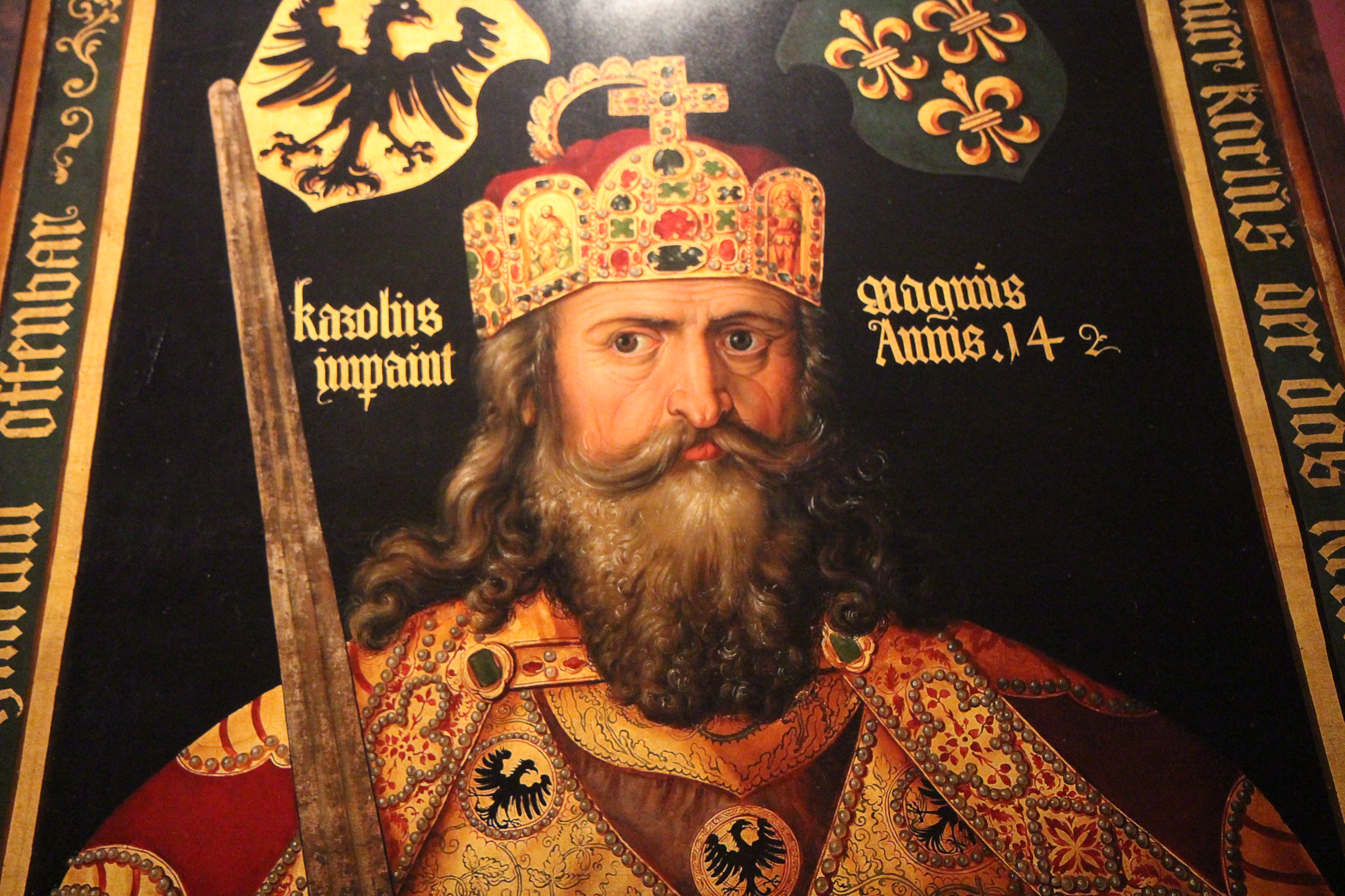 First Emperor of The Holy Roman Empire For The Holy Roman Empire