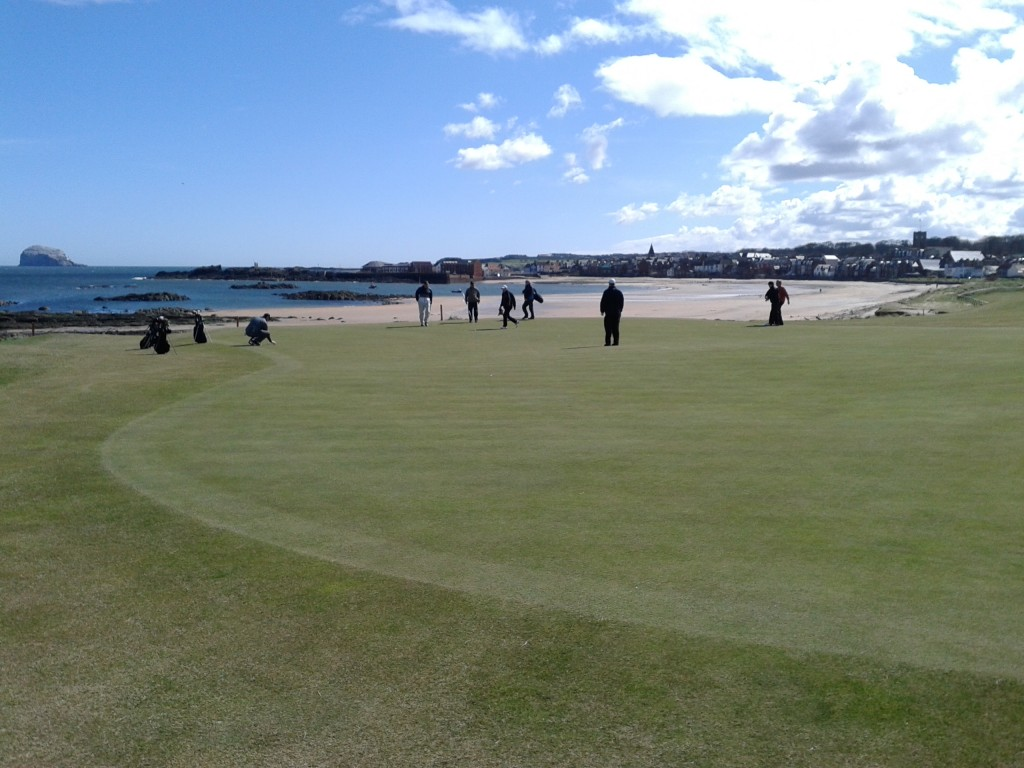 West Links 1st Green & Nth Berwick Town